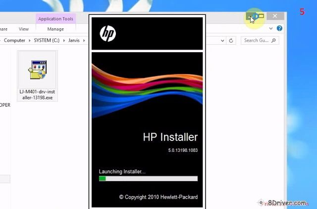 download HP LaserJet 8100dn Printer driver 5